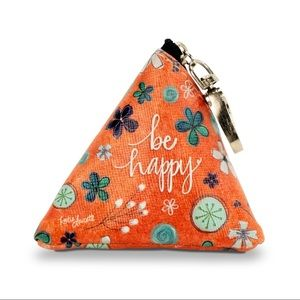 Small Triangle Bag - Be Happy